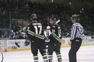 Prince Albert Raiders - Kyle Chipchura in action as a member of the Raiders.