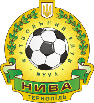 PFC Nyva Ternopil - Old logo used since 2015 till June 2017.
