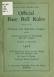 Baseball rules Overview of the rules of baseball at different levels and in different countries
