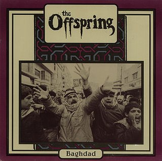 <i>Baghdad</i> (EP) EP released by American punk rock band The Offspring