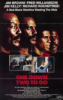 <i>One Down, Two to Go</i> 1982 film by Fred Williamson