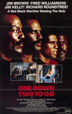One Down, Two to Go (film) - Image: One down two to go movie poster 1982