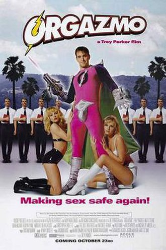 Orgazmo - Theatrical release poster