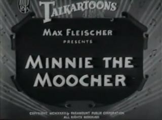 <i>Minnie the Moocher</i> (film) 1932 film