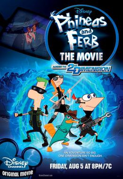 Picture of a movie: Phineas And Ferb The Movie: Across The 2nd Dimension