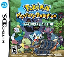 Pokemon Mystery Dungeon Explorers Of Time And Explorers Of