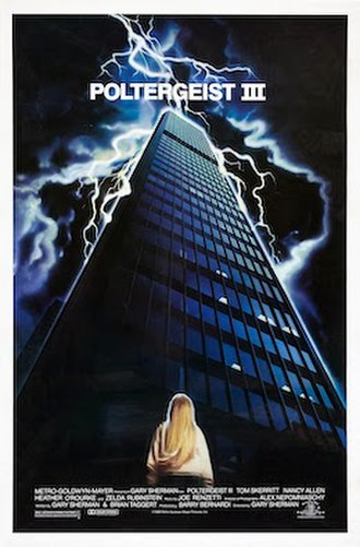 Poltergeist III - Theatrical release poster
