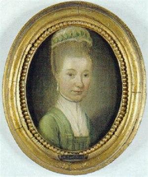 Marie Jeanne Clemens - Portrait of Marie Jeanne Clemens by Carl Loffler