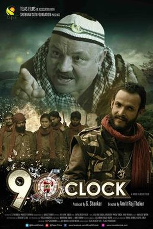 300px-Poster_of_Hindi_movie_9_O'_Clock.j