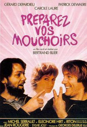 Get Out Your Handkerchiefs - French film poster