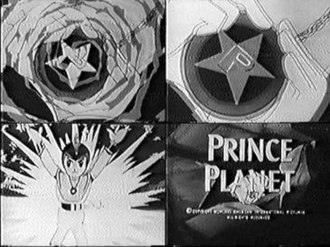 Prince Planet - Selections from U.S. version, including title card.