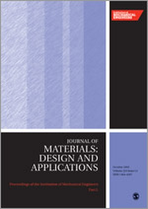 Proceedings of the Institution of Mechanical Engineers, Part L: Journal of Materials: Design and Applications - Image: Proceedings of the I Mech E L journal cover