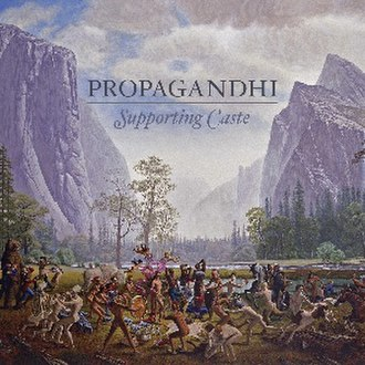 Supporting Caste - Image: Propagandhi Supporting Caste cover