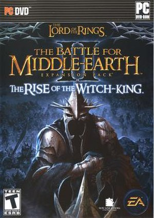 Witch-king of Angmar - Cover of the video game The Lord of the Rings: The Battle for Middle-earth II: The Rise of the Witch-king