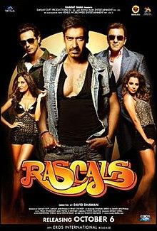 Rascals (2011) SL YT - Ajay Devgan, Sanjay Dutt, Kangana Ranaut, Arjun Rampal, Chunky Pandey, Satish Kaushik, Lisa Haydon, Hiten Paintal, Bharati Achrekar, Anil Dhawan, Mushtaq Khan, Steven Clarke