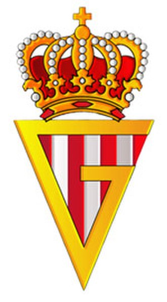 Sporting de Gijón - Logo during the years the club was named as Real Gijón.