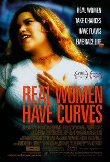 <i>Real Women Have Curves</i> 2002 film by Patricia Cardoso