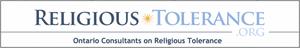 Ontario Consultants on Religious Tolerance - Image: Religious Tolerance