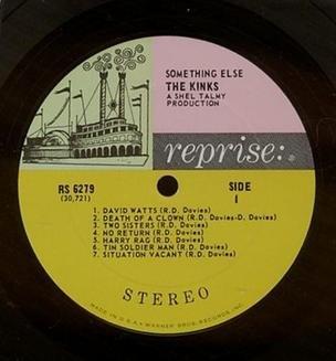 Reprise Label Tricolor Kinks