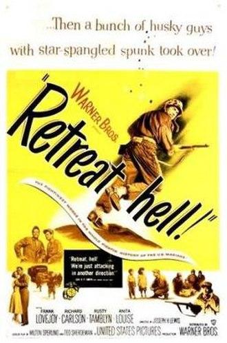 Retreat, Hell! - Original film poster
