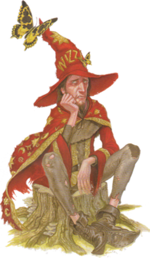 Rincewind - Rincewind as illustrated by Paul Kidby in The Art of Discworld