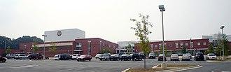 Rockville High School (Maryland) - Image: Rockville HS 2006