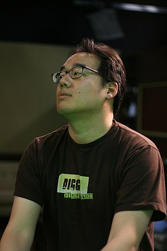 Roger Chang - Roger Chang on the set of Systm. 2009