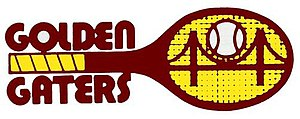 San Francisco Golden Gaters - San Francisco Golden Gaters logo used from 1974 to 1977.