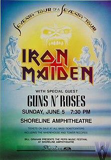 Seventh Tour of a Seventh Tour 1988 concert tour by Iron Maiden