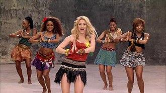 Waka Waka (This Time for Africa) - Image: Shakira Waka Waka Video 2010