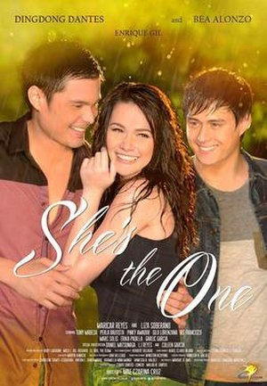 She's the One (2013 film) - Theatrical movie poster