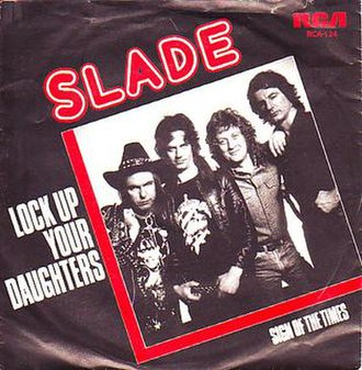 Lock Up Your Daughters (song) - Image: Sladesingle lockupyourdaughters
