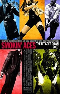 <i>Smokin Aces</i> 2006 film by Joe Carnahan