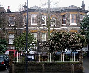 South London Botanical Institute - Wikipedia