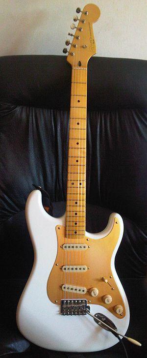 Squier - CV50's Stratocaster.
