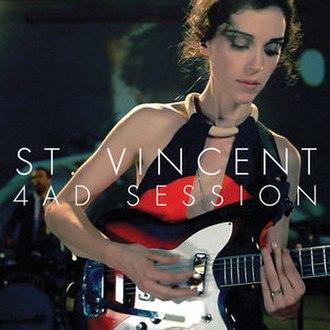 Strange Mercy - Image: St. Vincent 4AD Session
