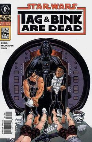 Tag and Bink - Image: Star Wars Tag & Bink Are Dead 01