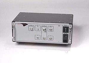 Stingray phone tracker - Image: Stingray Harris handle side