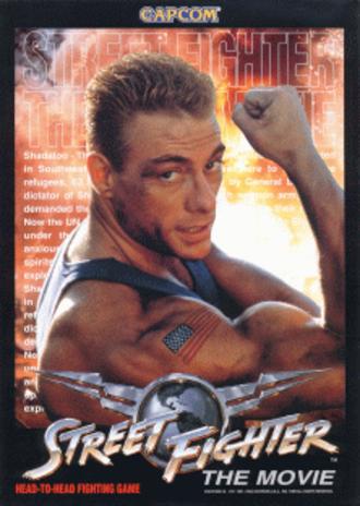 Street Fighter: The Movie (arcade game) - Street Fighter: The Movie arcade flyer.
