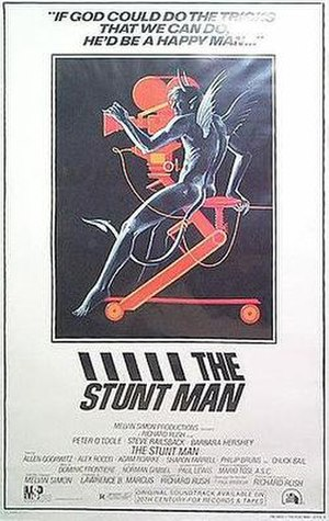 The Stunt Man - Theatrical poster