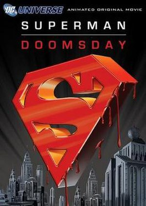 Superman: Doomsday - DVD cover art.