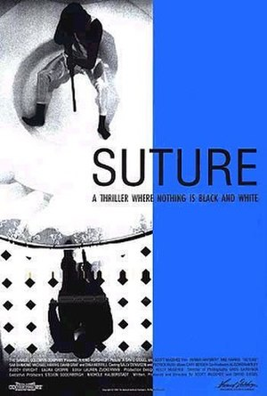 Suture (film) - Theatrical poster