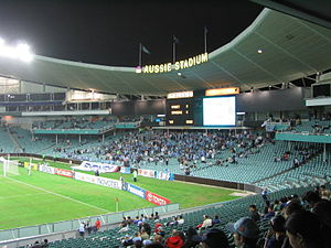 Philip Cox - Sydney Football Stadium, Moore Park, Sydney.