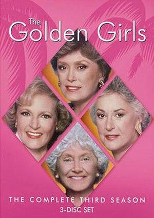 The Golden Girls (season 3) - Season 3 DVD Cover