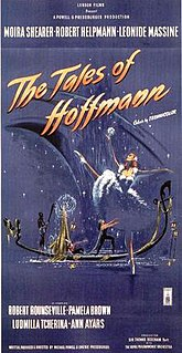 <i>The Tales of Hoffmann</i> (film) 1951 film directed by Emeric Pressburger & Michael Powell