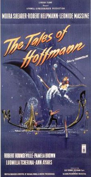 The Tales of Hoffmann (film) - Theatrical poster