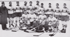 Great Britain men's national ice hockey team - The 1936 Winter Olympics gold medalists