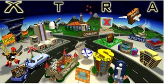 Xtra (ISP) - Xtra's original web portal, 1996.