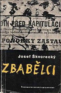<i>The Cowards</i> book by Josef Škvorecký