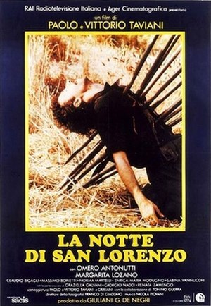 The Night of the Shooting Stars - Italian poster